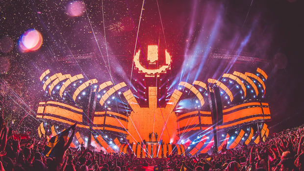Ultra Music Festival Miami 2017 main stage.
