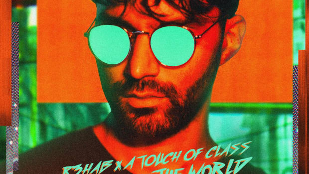 R3hab All Around The World Single Art