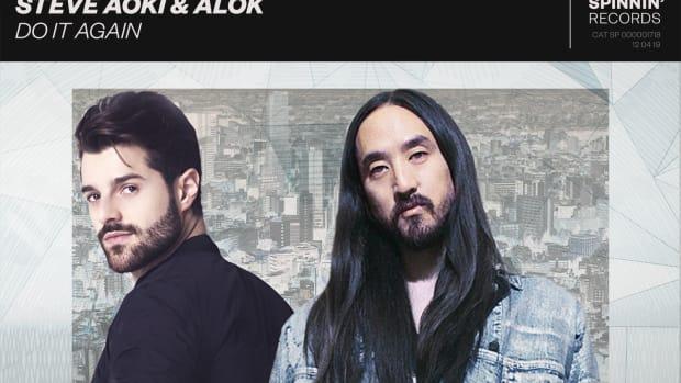Steve Aoki & Alok - Do It Again (Album Artwork) - Spinnin' Records / Ultra Music