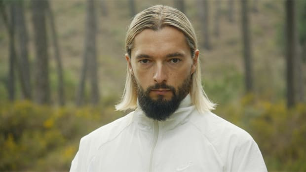 "A still image of Bosnian DJ/producer Salvatore Ganacci from the music video for his 2019 single ""Horse."""
