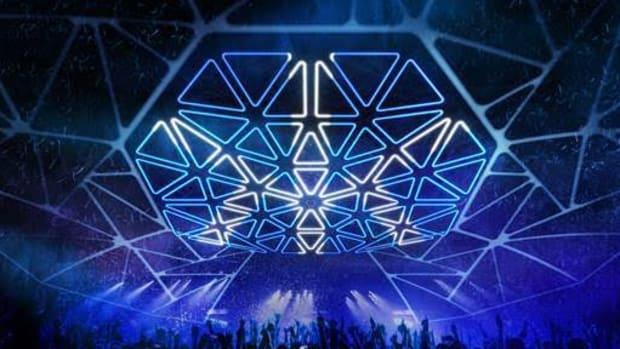 Hakkasan Nightclub Las Vegas New Light Installation May 2019