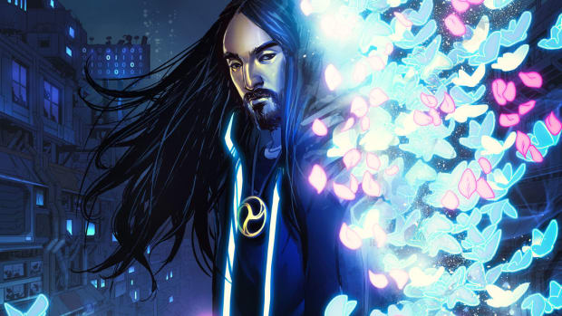 Steve Aoki Neon Future Comic