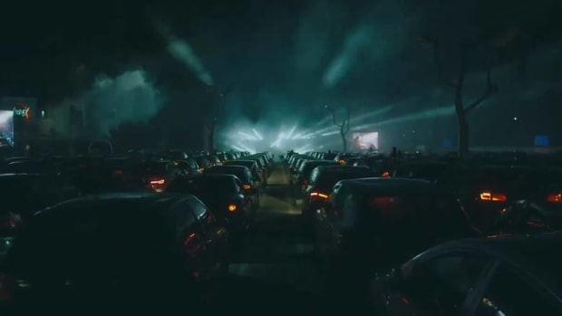 Drive-in rave
