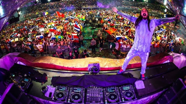 Steve Aoki Tomorrowland 2018