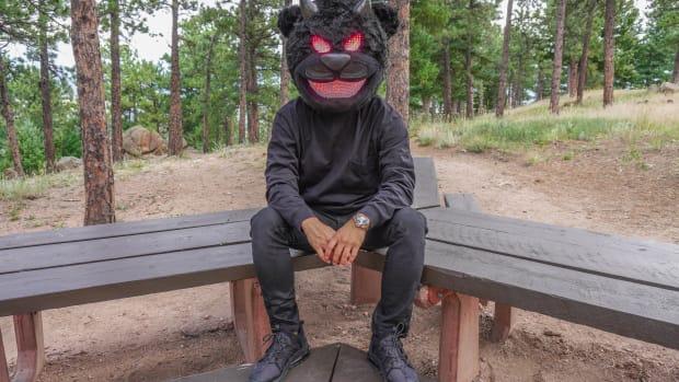 Bear Grillz New Mask Press Photo