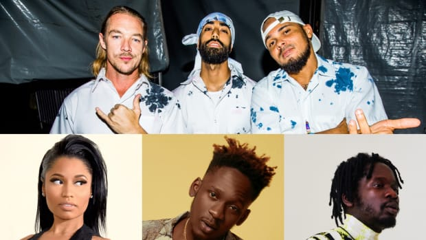 Major Lazer, Nicki Minaj, Mr Eazi, K4mo