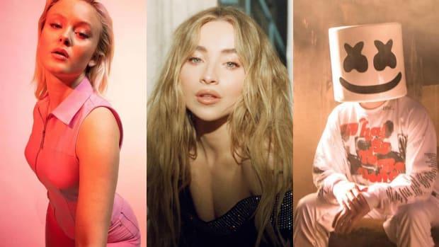 Zara Larsson, Sabrina Carpenter, and Marshmello