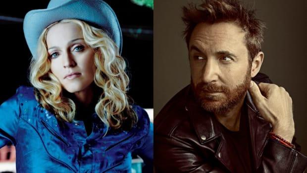 Madonna and David Guetta