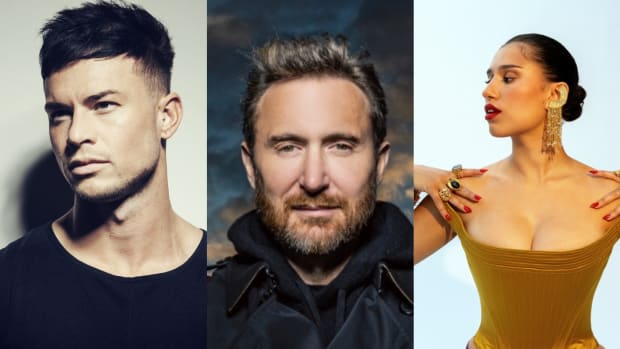Joel Corry, David Guetta, Raye