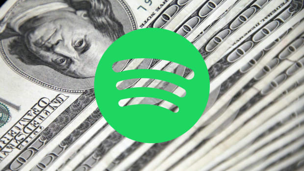 Spotify money