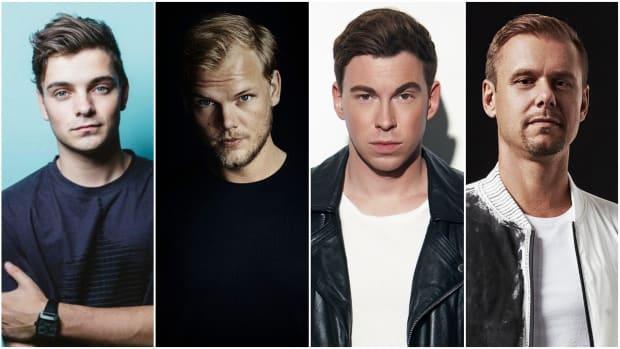 Martin Garrix Avicii Hardwell Armin van Buuren Ultra Music Festival