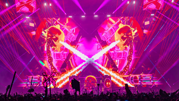 Excision's Evolution Stage at Thunderdome