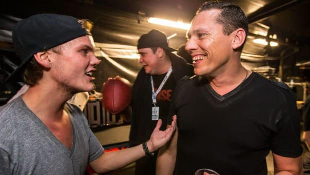 Avicii and Tiesto