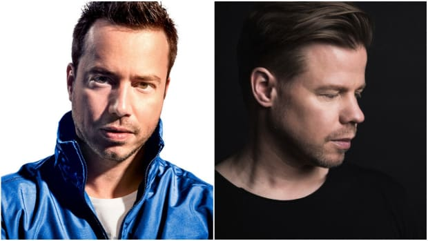 From left to right: Sander Van Doorn and Ferry Corsten.