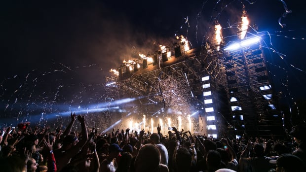 Festival Stage Pyrotechnics