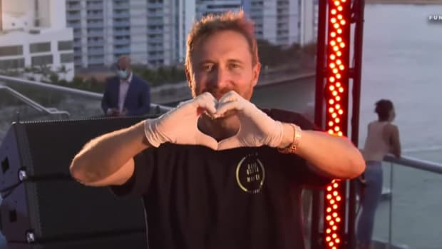 David Guetta Miami United At Home Fundraising Live Stream