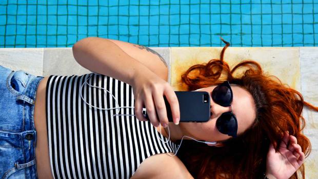 June 2020 Top Picks EDM Playlist Cover pool headphones