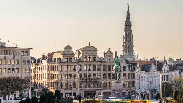 brussels belgium by Petar Starcevic