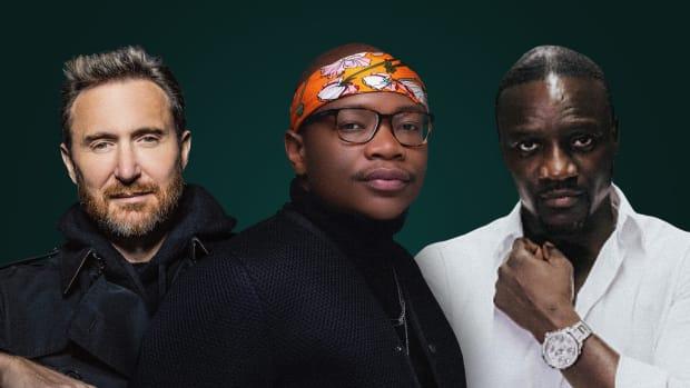 David Guetta, Master KG, and Akon