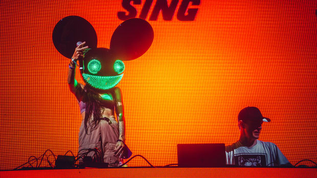 Deadmau5 and Lights at FVDED In The Park Vancouver 2021
