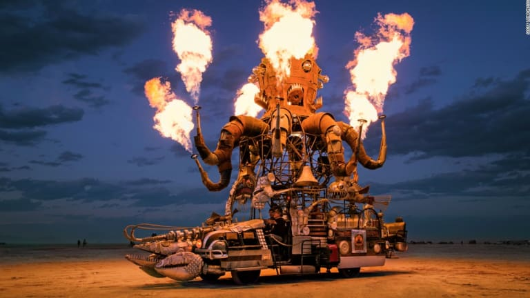 No Spectators: The Art Of Burning Man Exhibition is now at The Smithsonian