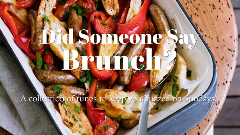 Get In The Mood With Did Someone Say Brunch? [PLAYLIST]