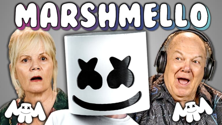 Watch Marshmello Respond To the Elderly Reacting To His Music