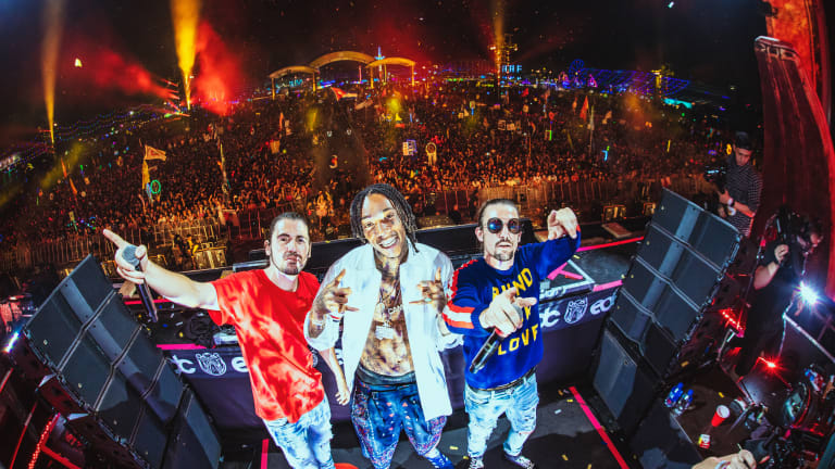 Dimitri Vegas & Like Mike Perform New Single With Wiz Khalifa @ EDC
