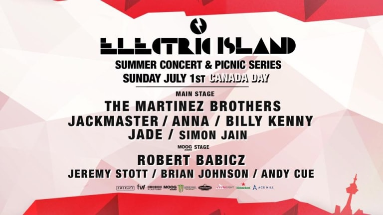 Electric Island Festival Series To Host In Canada