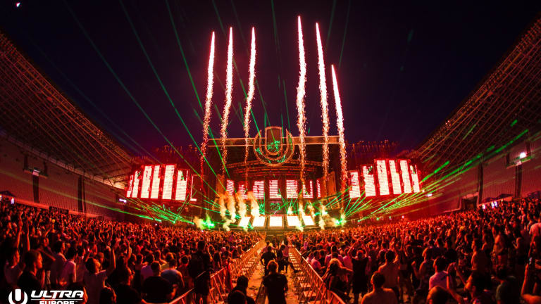 Day 2 of Ultra Europe Kicks Off [Watch Here]