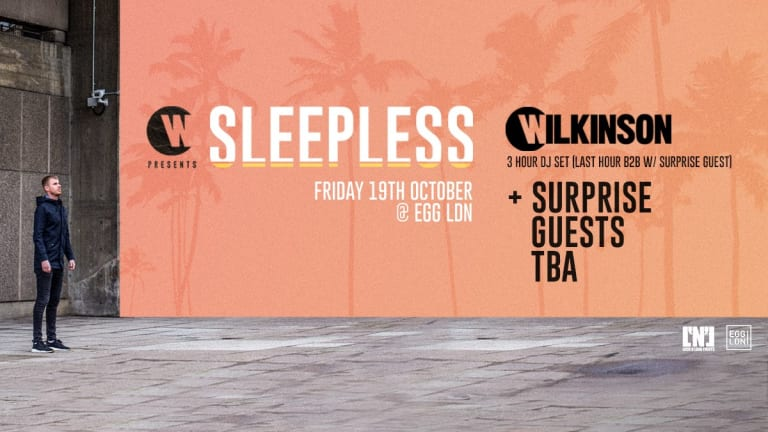 Wilkinson Announces New London Club Night 'Sleepless'