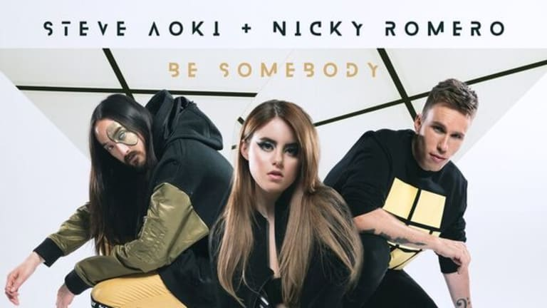 "Steve Aoki and Nicky Romero Pair Up With Kiiara for New Single ""Be Somebody"" [Listen]"