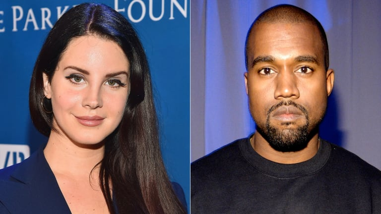 Lana Del Rey Snaps After Kanye West Shares Controversial Trump Post