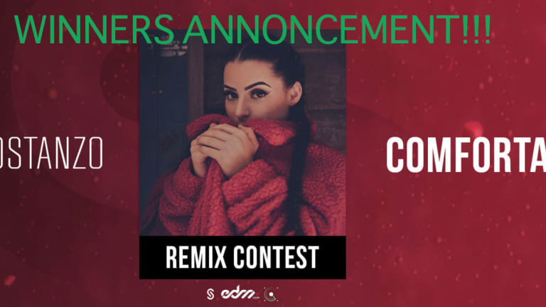 "WINNERS ANNOUNCEMENT for the Rachel Costanzo ""Comfortable"" Remix Competition"