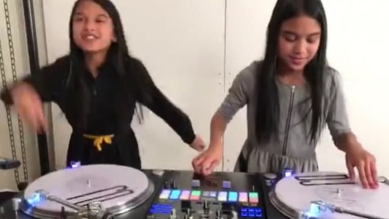 Watch These 11-Year-Olds' Incredible Notorious B.I.G. Scratch Routine