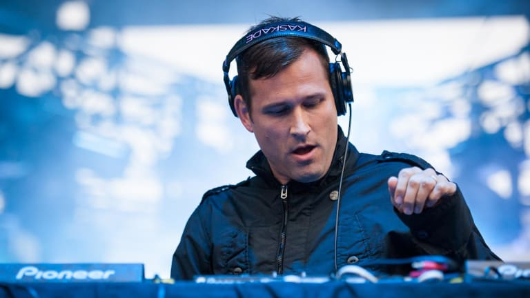 Kaskade Falls Onstage During Memorable NYE Performance