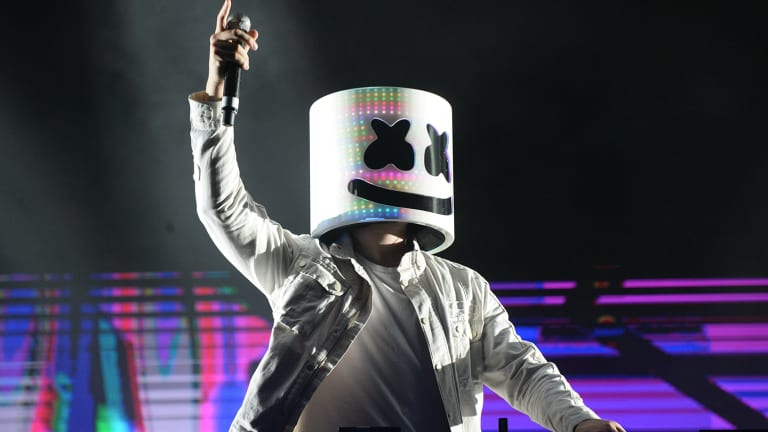Marshmello Awarded AMA in Favorite Artist - Electronic Dance Music Category
