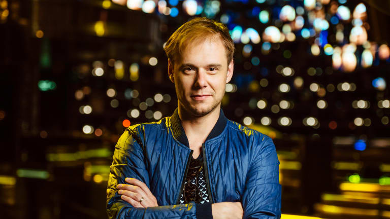 Armin van Buuren Reveals Collab with Dimitri Vegas & Like Mike and W&W