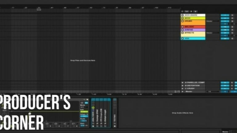 HOW TO SET UP YOUR ABLETON TEMPLATE FOR A FASTER WORKFLOW