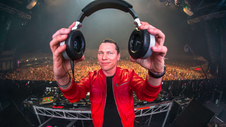 "Tiësto ""Can't Get Enough"" of Collaborating with Mesto"