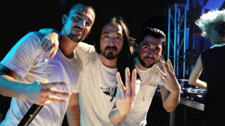 Dimitri Vegas, Like Mike And Steve Aoki Release New Collaboration as a Christmas Giveaway!