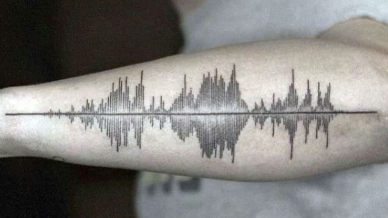 Skin Motion Unveils Tattoos That Can Play Audio [WATCH]