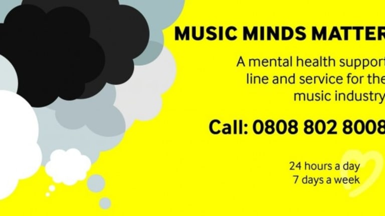 Help Musicians UK is Leading the Discussion on Mental Health in Music