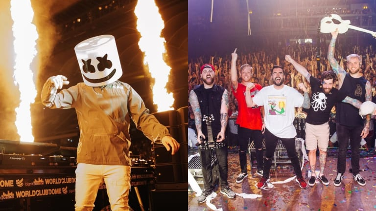 "Marshmello Previews A Day To Remember Collab ""Rescue Me"""