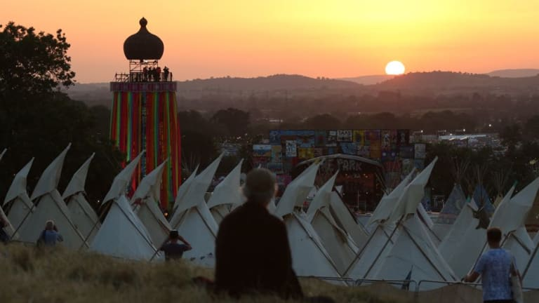 60-Year-Old Glastonbury Staff Member Found Dead in His Tent