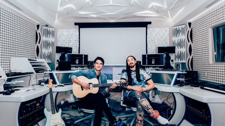"Steve Aoki and Darren Criss Cover Dave Matthews Band's ""Crash Into Me"""
