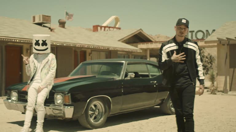 """Marshmello and Kane Brown Get into Police Chase in """"One Thing Right"""" Music Video"""