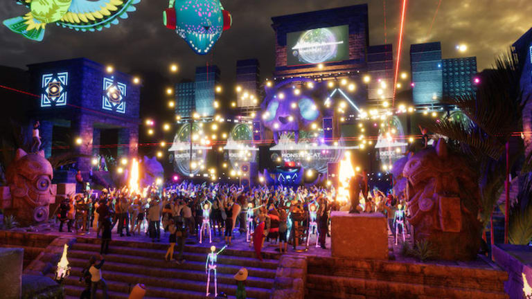 The Company Behind Second Life Brings EDM To The World Of VR - EDM