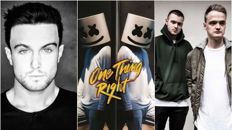 "KDrew and Duke & Jones Get ""One Thing Right"" in Marshmello Remixes"