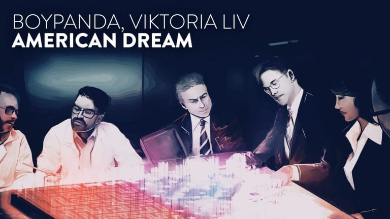 "BoyPanda and Viktoria Liv Reunite for the Ethereal ""American Dream"""